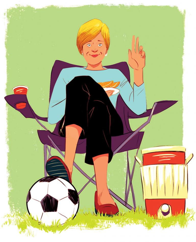 The Soccer Mom's Lament